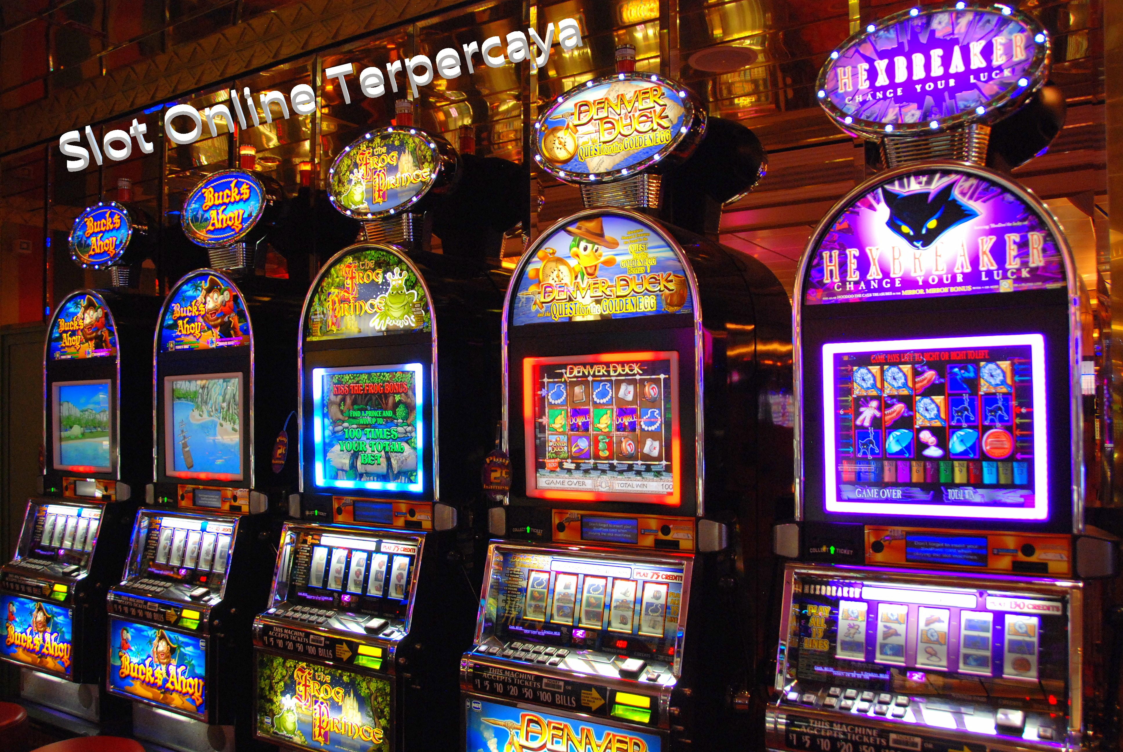 Judi Slot Jackpot Online Uang Rupiah